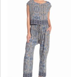 Free People Make My Day Tapestry Print 2pc Set Med